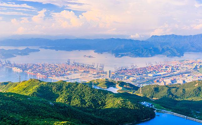 Port Yantian, Shenzhen China