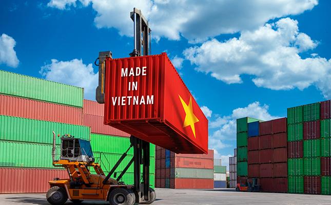 Vietnam Container at Port