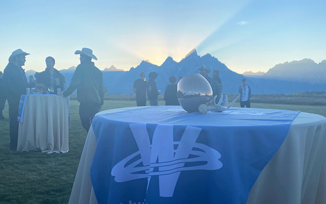 WWL Table at Conference in Jackson Hole